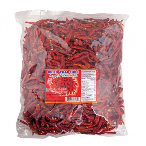 JHC Dried Chilli Without Stems 100g